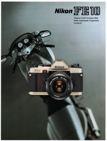 Nikon FE10 35mm SLR Camera body only very rear | eBay